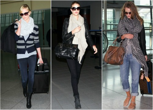 Celebrity Airport Style So Much To Smile About