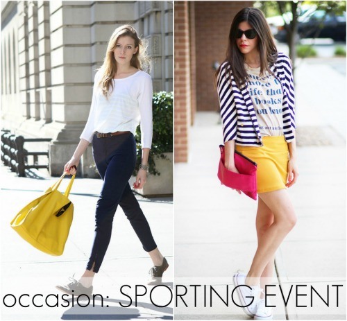 Outfit + Occasion Sporting Event | So Much to Smile About