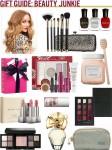 gift guide - beauty junkie