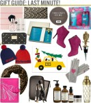 GIFT GUIDE - LAST MINUTE