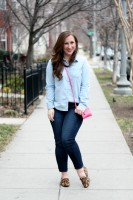 Denim + Pink / So Much to Smile About